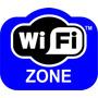 Adesivo Decorativo, Wi-fi P/ambientes C Rede Wireless Grátis