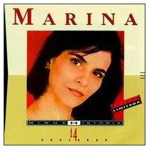 Marina - Minha Historia - 14 Sucessos - Cd