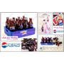 Miniaturas De Pepsi Para Barbie * Re-ment * Casa De Bonecas
