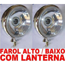 Kit Farol Principal Com Lanterna (show)buggy Off Road Tuning