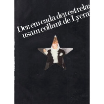 Encarte De Moda Lycra 1982 - Modelo: Beth Martinez