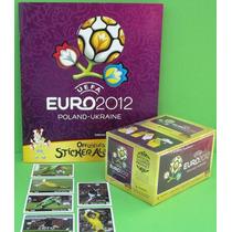 Euro 2012 - Album + Box 100 Envelopes + Extras Edição Alemã