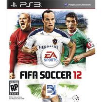 Jogo Semi Novo Fifa Soccer 12 Para Playstation 3 Impecável