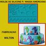 Molde De Silicone Para Pasta Americana - Wilton