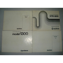 Manual Original Gradiente Model 1300-166-126-86-str800-es-10