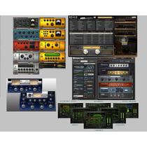 Programa Vst Ezmix 2+ T-racks+ Guitar Rig 5 Pro+ Focusrite