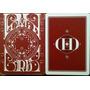 Baralho Smoke & Mirror Dd V6 Red - Mágica Pôquer Poker