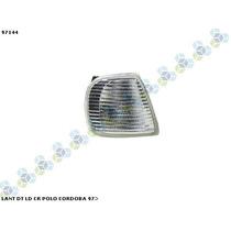 Lanterna Dianteira Le/ld Ht Cristal Polo Cordoba 97/...