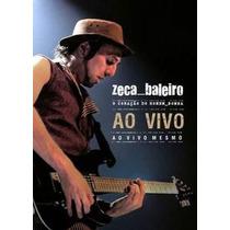 Dvd Zeca Baleiro Ao Vivo (2009) - Novo Lacrado Original