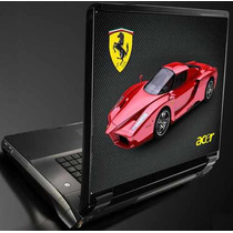 Acer Ferrari Skin P/ Notebook, Pele, Capa,