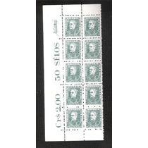 Marmorizado- Rhm 512y- Bloco 10 Selos, Mint