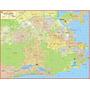 Mapa Gigante Cidade Do Rio De Janeiro - Turismo E Entregas
