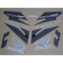 Kit Adesivos Honda Cbx Twister 250 2008 Preta - Decalx