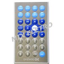 Controle Remoto Para Dvd Portatil Daewoo Modelo Dpc7900