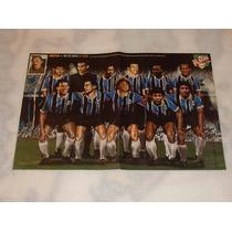 Pôster Placar O Melhor Grêmio De Todos Os Tempos 2007