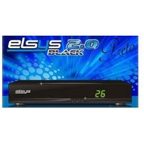 Receptor Antena Parabolica Elsys Black (prata Ou Preto) 2.0