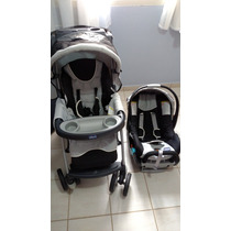 Carrinho De Bebê + Bebê Conforto Chicco