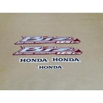 Kit Adesivos Honda Biz 125 Es 2012 Vermelha - Decalx