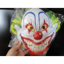 Mascara Do Palhaço Em Plastico Colorido