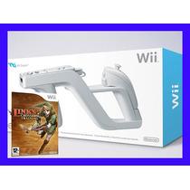 Wii Zapper Com Links Crossbow Training Pistola Nintendo Wii