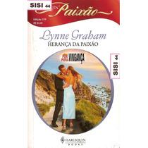 Harlequin Paixão Herança Da Paixão Lynne Graham Nº159