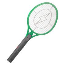 Raquete Eletrica Recaregável Mata Moscas Mosquitos