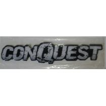 Emblema Logotipo Resinado Conquest Linha Chevrolet (montana)
