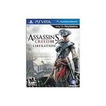 Jogo Assassins Creed Liberation Lacrado Para Ps Vita