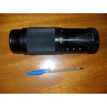 Lente Vivitar Para Maquina Fotográfica - 70 -300 Mm