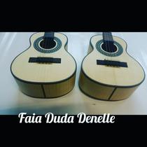 Cavaco Luthier Duda Denelle Faia 9,5 Com Captador Lx
