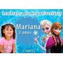 Lembrança De Aniversário Frozen - Imã De Geladeira -10 Unid