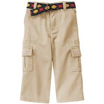 Calça Jeans Cargo Bebê Criança Gymboree Carter