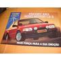 Folder Raro Ford Escort Xr-3 89 1.8 89 1989