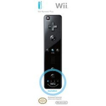 Novo Wii Remote Plus Usa Com Motion Plus Embutido Black