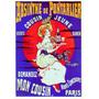 Cartaz Poster Vintage Absinto Bebida Paris França Garçonete