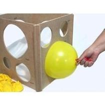 Medidor De Bexigas Fabricado Em Mdf - Sua Decoração Perfeita