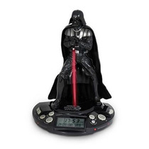 Radio Relogio E Alarme Star Wars Darth Vader - Jazwares