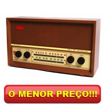 Rádio De Mesa 2 Faixas C/ Entrada Ipod/mp3 - Companheiro