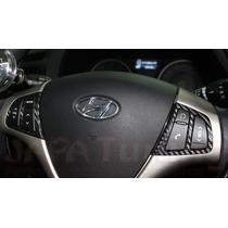 Kit Adesivo Fibra De Carbono Hyundai I30 G1 07/12 Automatico