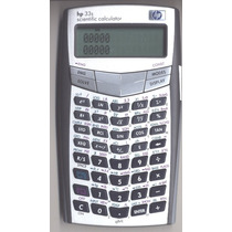 Programas Para Calculadoras Hp 33s, Hp 35s, Hp-33s 32s