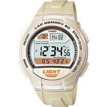Relógio Casio W-734 7av Memória 60 Voltas 5 Alarmes Wr100 B