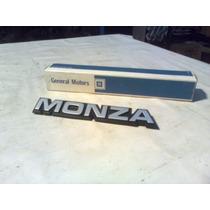 Emblema Monza Para Porta Monza 82/88