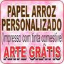 Papel Arroz Personalizado Temas - Foto No Bolo - Arte Gratis