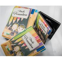 Conjunto Álbum De Formatura Infantil. Com Case Para Cd/dvd.