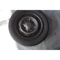 Vendo Uma Roda Da Trafic Com 205/60/15 Pneu Remod R$250.00