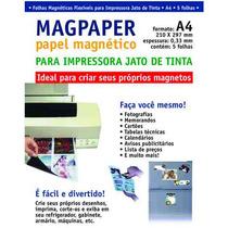 Papel Imã/ Magnetico P/ Foto - Direto P/ Sua Impressora