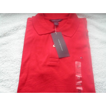 Camisa Polo Tommy Hilfiger Feminina Vermelha Frete Gratis