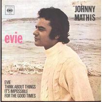 Johnny Mathis Compacto De Vinil Evie 1971