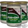 Kit 3 Un - Óleo De Coco Extra Virgem 500ml - Copra