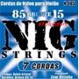 Encordoamento De Violão 7 Cordas Nylon Nig N485